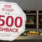 Up to £500 Cashback on selected NEFF appliances!
